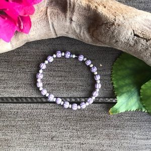 Jewelry - 🌺🌿Purple Pumpkin Stretch Bracelet🌿🌺